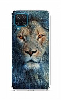 Zadní silikonový kryt na Samsung A12 Kouzelný lev