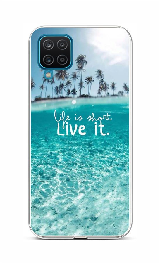 Zadní silikonový kryt na Samsung A12 Moře