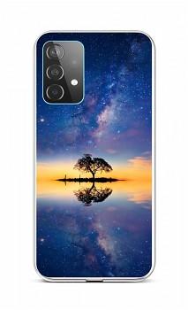 Zadní silikonový kryt na Samsung A52 Noční obloha