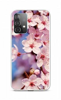 Zadní silikonový kryt na Samsung A52 Sakura