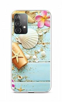 Zadní silikonový kryt na Samsung A52 Mušle