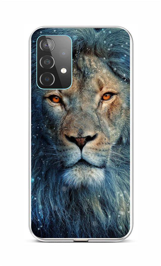Zadní silikonový kryt na Samsung A52 Kouzelný lev