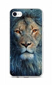 Zadní silikonový kryt na iPhone SE 2020 Kouzelný lev