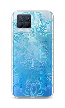 Zadní silikonový kryt na Realme 8 Pro Blue Mandala