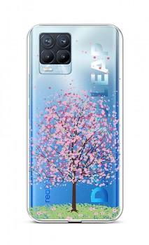 Zadní silikonový kryt na Realme 8 Pro Blossom Tree