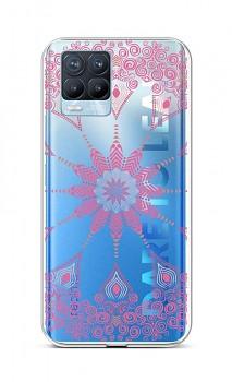 Zadní silikonový kryt na Realme 8 Pro Pink Mandala