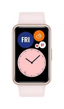 Chytré hodinky Huawei Watch Fit růžové