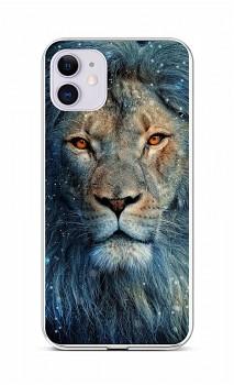 Zadní silikonový kryt na iPhone 11 Kouzelný lev