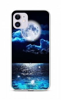 Zadní silikonový kryt na iPhone 11 Úplněk