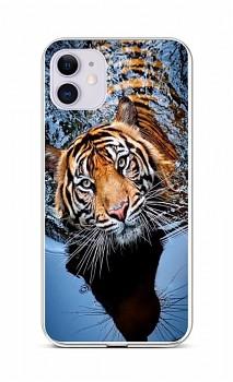 Zadní silikonový kryt na iPhone 11 Tygr