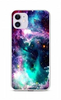 Zadní silikonový kryt na iPhone 11 Vesmír