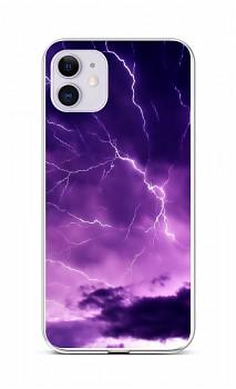 Zadní silikonový kryt na iPhone 11 Bouřka