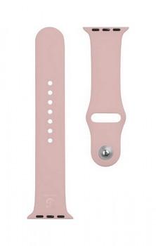 Silikonový řemínek Tactical 496 pro Apple Watch 3-4-5-6-SE 42-44mm růžový