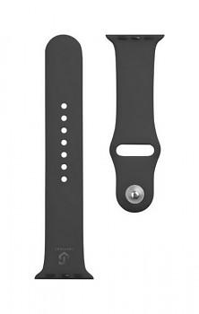 Silikonový řemínek Tactical 488 pro Apple Watch 3-4-5-6-SE 42-44mm černý