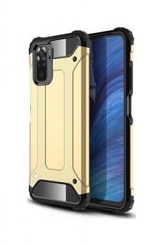 Zadní kryt na Xiaomi Redmi Note 10 Panzer zlatý