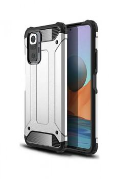 Zadní kryt na Xiaomi Redmi Note 10 Pro Panzer stříbrný
