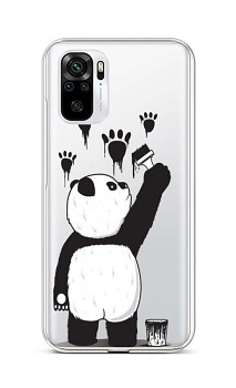 Zadní silikonový kryt na Xiaomi Redmi Note 10 Rebel Panda