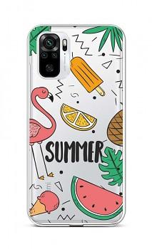 Zadní silikonový kryt na Xiaomi Redmi Note 10 Summer