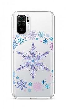 Zadní silikonový kryt na Xiaomi Redmi Note 10 Snowflake