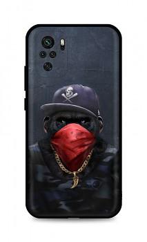 Zadní silikonový kryt DARK na Xiaomi Redmi Note 10 Monkey Gangster