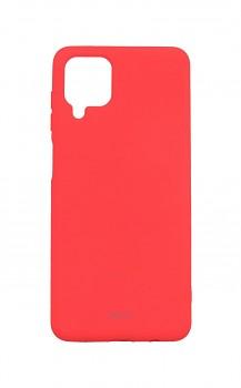 Zadní silikonový kryt Roar na Samsung A12 růžový