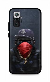 Zadní silikonový kryt DARK na Xiaomi Redmi Note 10 Pro Monkey Gangster