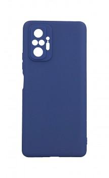 Zadní silikonový kryt Forcell Soft na Xiaomi Redmi Note 10 Pro modrý