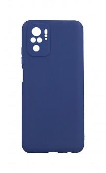 Zadní silikonový kryt Forcell Soft na Xiaomi Redmi Note 10 modrý