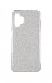 Zadní pevný kryt Forcell na Samsung A32 glitter stříbrný