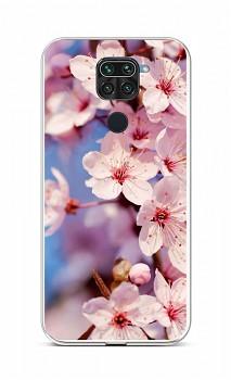 Zadní silikonový kryt na Xiaomi Redmi Note 9 Sakura