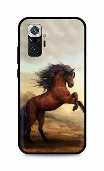 Zadní silikonový kryt DARK na Xiaomi Redmi Note 10 Pro Brown Horse