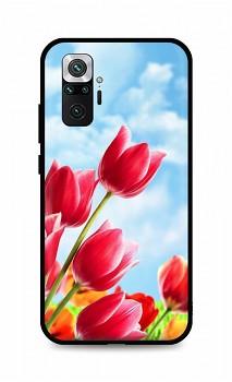 Zadní silikonový kryt DARK na Xiaomi Redmi Note 10 Pro Tulips