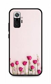 Zadní silikonový kryt DARK na Xiaomi Redmi Note 10 Pro Roses