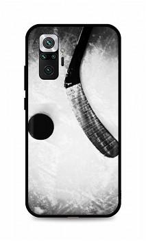 Zadní silikonový kryt DARK na Xiaomi Redmi Note 10 Pro Hockey