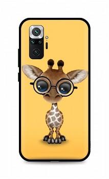 Zadní silikonový kryt DARK na Xiaomi Redmi Note 10 Pro Cute Giraffe