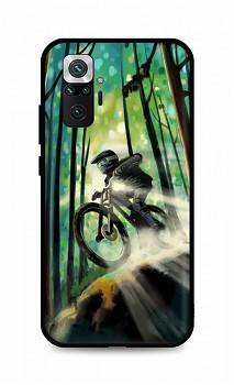 Zadní silikonový kryt DARK na Xiaomi Redmi Note 10 Pro Mountain Bike