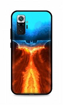 Zadní silikonový kryt DARK na Xiaomi Redmi Note 10 Pro Fiery Batman