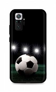 Zadní silikonový kryt DARK na Xiaomi Redmi Note 10 Pro Football