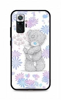 Zadní silikonový kryt DARK na Xiaomi Redmi Note 10 Pro Floral Teddy