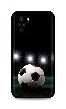 Zadní silikonový kryt DARK na Xiaomi Redmi Note 10 Football