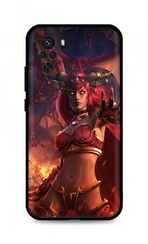 Zadní silikonový kryt DARK na Xiaomi Redmi Note 10 Heroes Of The Storm