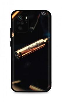 Zadní silikonový kryt DARK na Xiaomi Redmi Note 10 Pablo Escobar Bullet