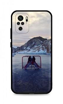 Zadní silikonový kryt DARK na Xiaomi Redmi Note 10 Hockey Goalie