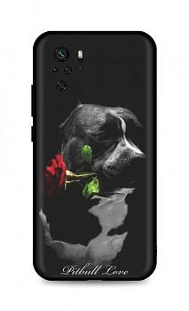 Zadní silikonový kryt DARK na Xiaomi Redmi Note 10 Pitbull Love