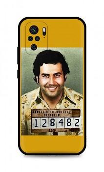 Zadní silikonový kryt DARK na Xiaomi Redmi Note 10 Pablo Escobar