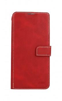 Knížkové pouzdro Molan Cano Issue Diary na Xiaomi Redmi Note 10 Pro červené
