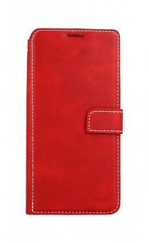 Knížkové pouzdro Molan Cano Issue Diary na Xiaomi Redmi Note 10 červené