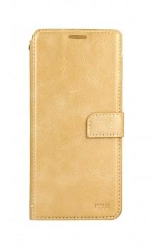 Knížkové pouzdro Molan Cano Issue Diary na Samsung A52 zlaté
