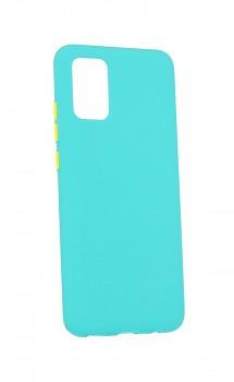 Zadní silikonový kryt Solid na Samsung A02s mentolový
