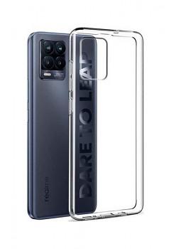 Ultratenký silikonový kryt na Realme 8 0,5 mm průhledný